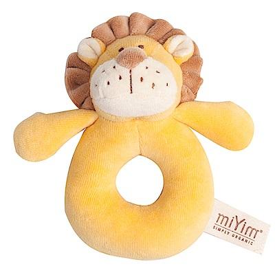 miYim有機棉手搖鈴-里歐獅子
