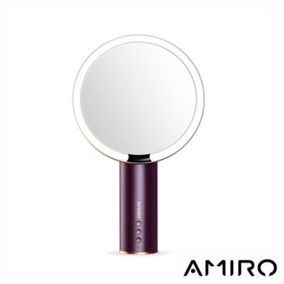 AMIRO O 系列高清日光化妝鏡(無線充電版) - 勃根地酒紅限量版