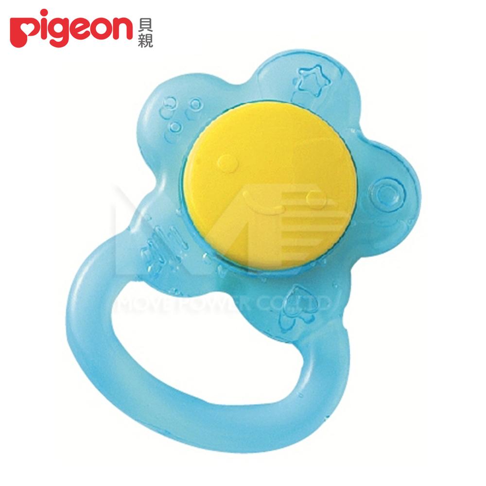 【任選】日本《Pigeon 貝親》小花冰涼固齒器