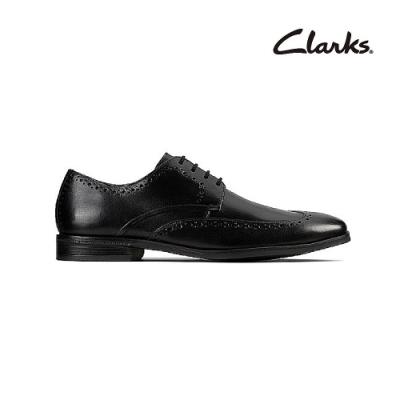 Clarks   工藝世家  Stanford Limit  男皮鞋  黑色  CLM48029SD20