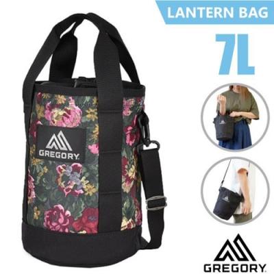 GREGORY LANTERN BAG 7L 圓筒型側背包_花園油彩