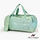 【奧莉薇閣】旅行袋 運動包 行李收納袋 側背包 斜背包 圓筒大容量(哈密瓜綠) product thumbnail 2