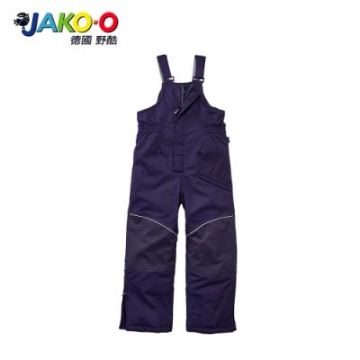 JAKO-O 德國野酷-保暖連身吊帶雪褲-紫   兒童滑雪雪衣