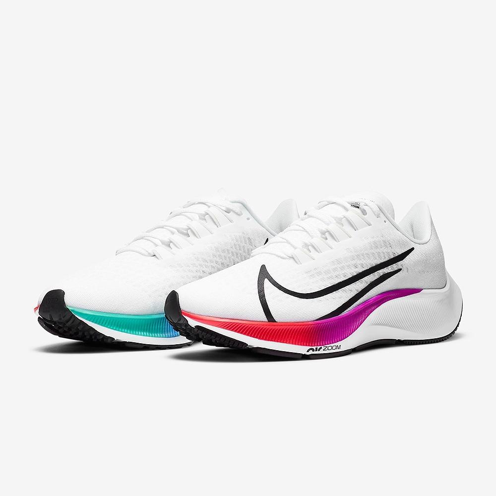 NIKE 慢跑鞋 緩震 訓練 路跑 健身 運動鞋 女鞋  白 BQ9647103 WMNS AIR ZOOM PEGASUS 37