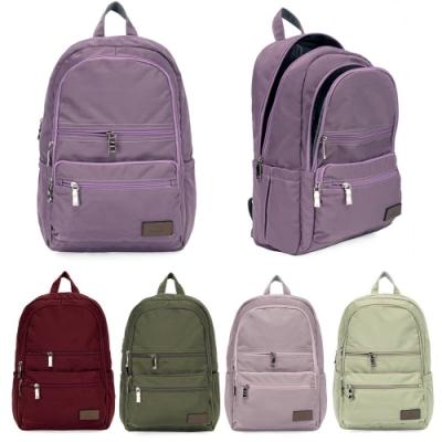 J II 後背包-極限水洗雙拉鍊後背包-薰衣草紫-6566-19