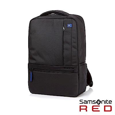 Samsonite RED KLEVE 多夾層通勤筆電後背包15.6(黑)