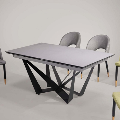 H&D 特倫斯8尺拉合餐桌