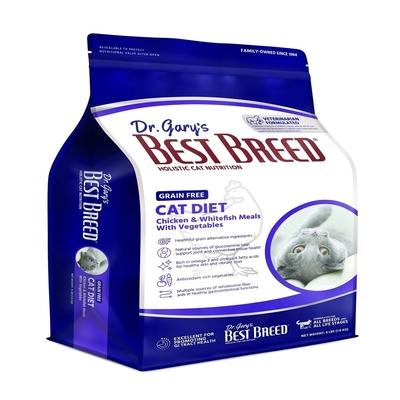 BEST BREED貝斯比-低敏無榖系列-貓無榖配方 4LBS(1.8KG) 全年齡貓隻適用(購買兩件贈送寵鮮食零食1包)