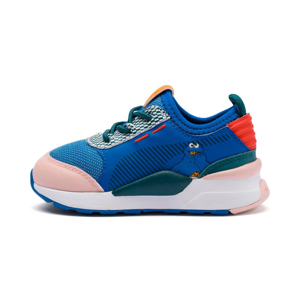 PUMA-Sesame Str 50 RS-0 PS 小童運動鞋-淡珊瑚