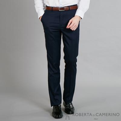 ROBERTA諾貝達 魅力首選 修身窄管版西裝褲 深藍