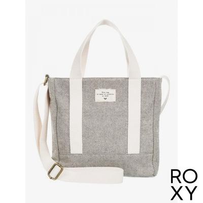 【ROXY】BANANA SMOOTHIE 肩背/手提兩用包 黑色