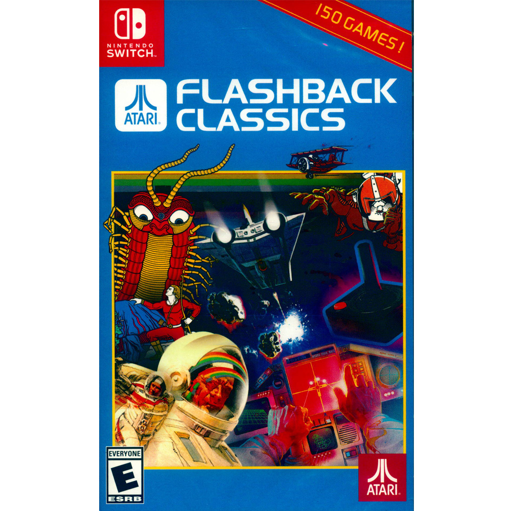 Atari 重溫經典合集 Atari Flashback - NS Switch 英文美版