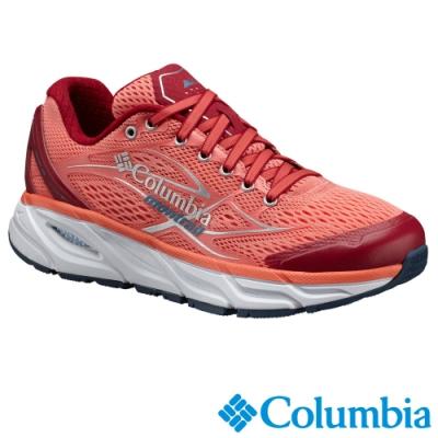 Columbia 哥倫比亞 女款- 野跑 輕量多功能跑鞋-紅色 UBL46460