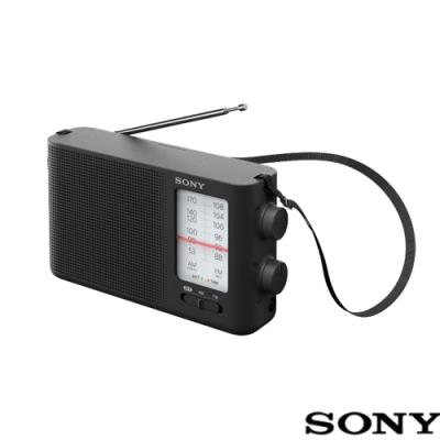 SONY 類比調諧可攜式 FM/AM 收音機 ICF-19(公司貨)