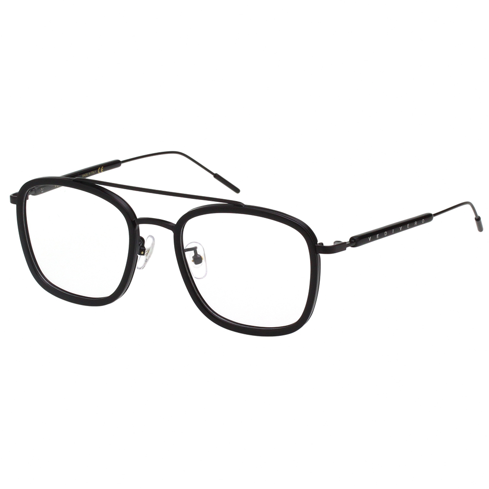 VEDI VERO 復古文藝感 光學眼鏡 (黑色)