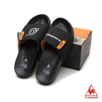 漩渦鳴人聯名拖鞋 LRL7331099-中性-黑-法國公雞牌《火影忍者疾風傳》