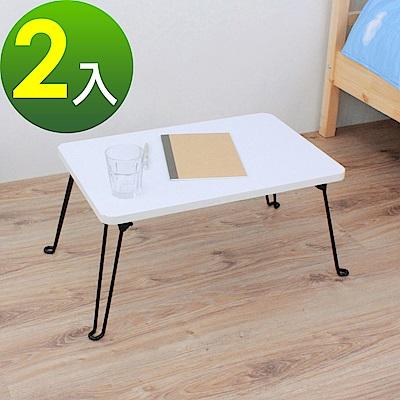 頂堅 折疊桌/野餐桌/和室桌-寬60x深40x高31/公分-二色-2入/組