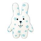 CRAFTHOLIC 宇宙人 天藍白雲星星兔寶貝枕