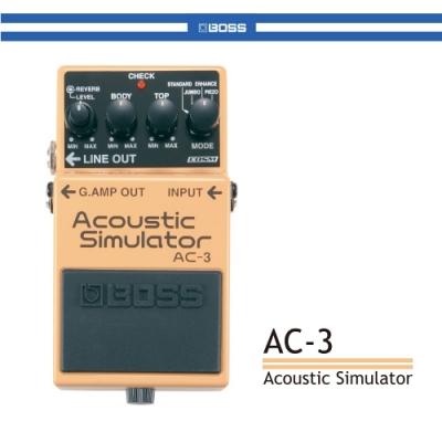 BOSS AC-3木吉他模擬效果器