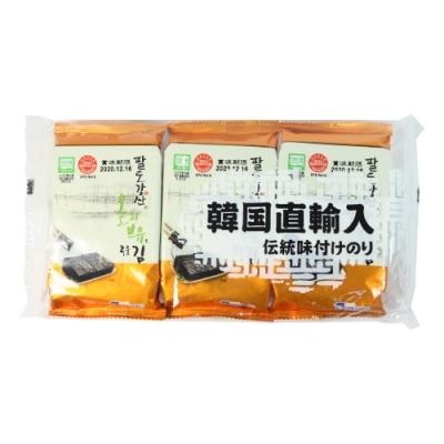 orionjako韓國麻油風味海苔(12g)3入