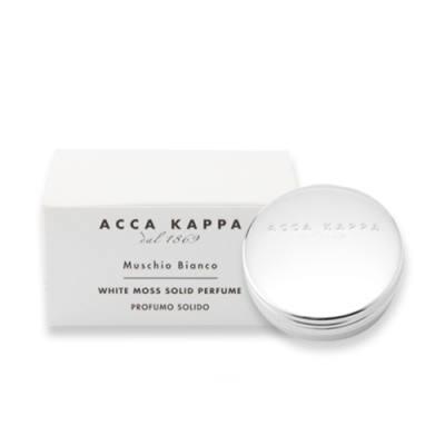 ACCA KAPPA 白麝香香膏10ml White Moss Solid Perfume