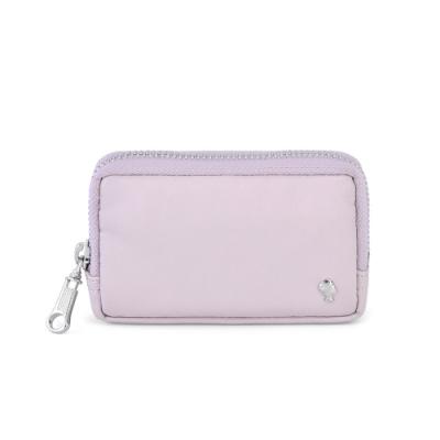 PORTER - 輕甜繽紛SPIRIT實用零錢包 - 藕粉紫(銀)