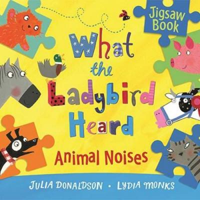 What The Ladybird Heard 小瓢蟲聽到了什麼?精裝拼圖書