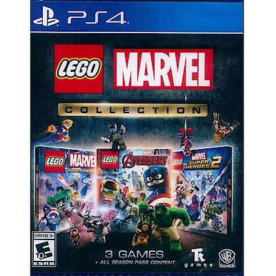 樂高漫威 合輯典藏完整版 Lego Marvel Collection- PS4 英文美版
