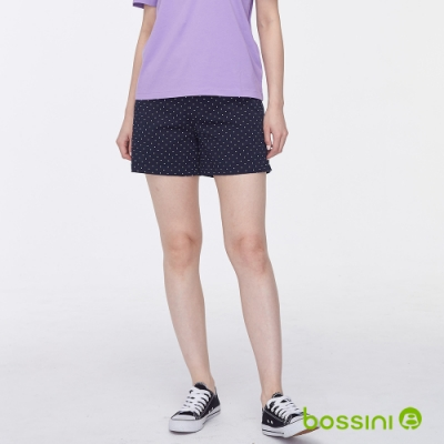 bossini女裝-休閒短褲02藏藍色