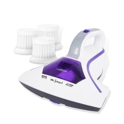 Mr.Smart小紫智能UV紫外線HEPA除蹣吸塵機(加贈 專用濾網 3入)
