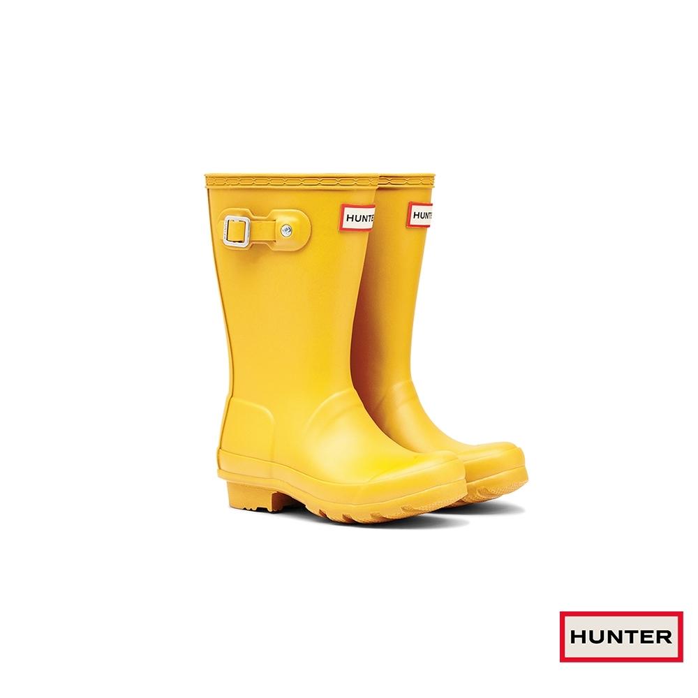 HUNTER - 童鞋 - Original大童低跟霧面短靴 - 黃