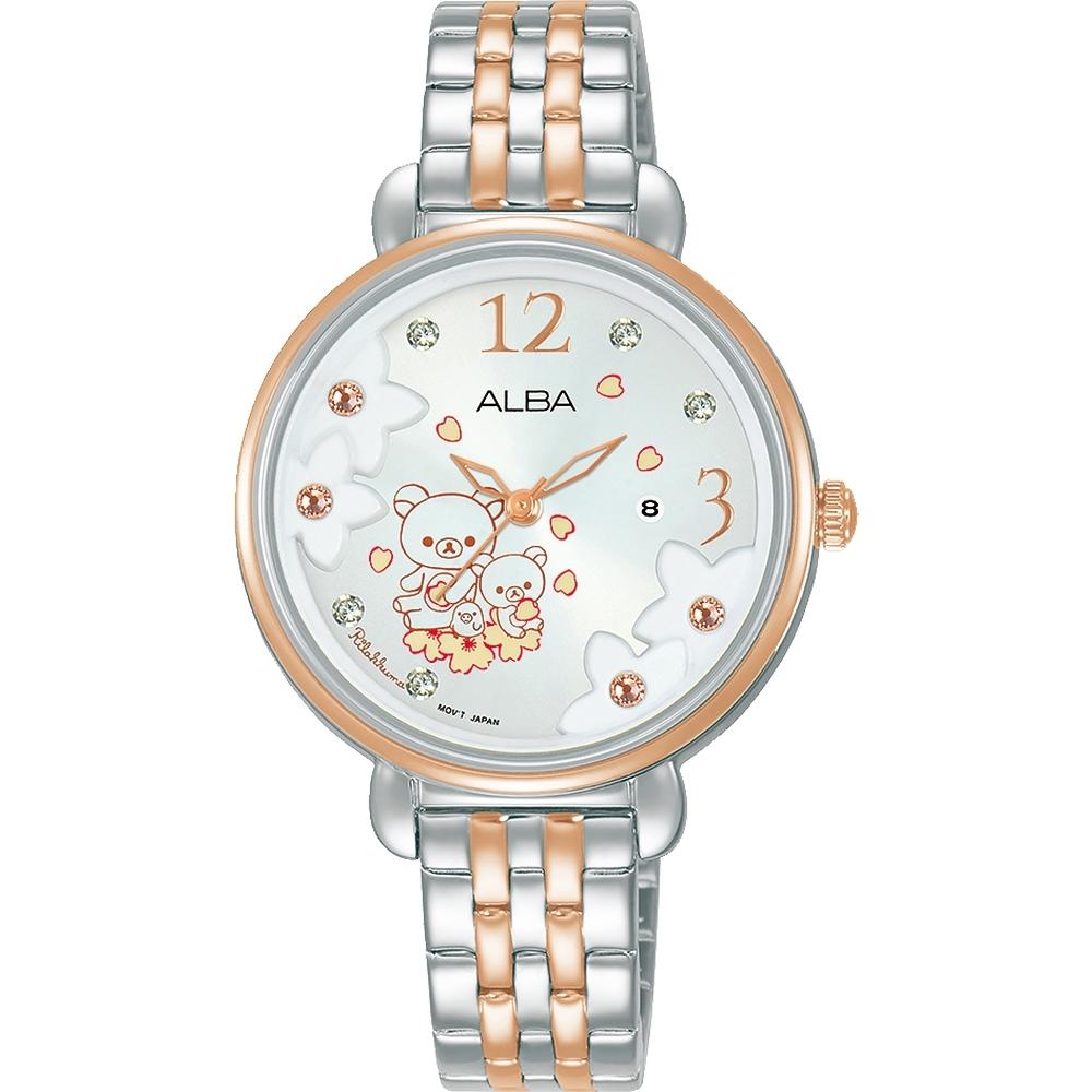 ALBA x 拉拉熊聯名女錶(AH7X96X1/VJ22-X327KS)