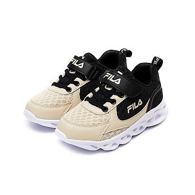 FILA KIDS 中童MD輕量慢跑鞋-黑 2-J422V-700