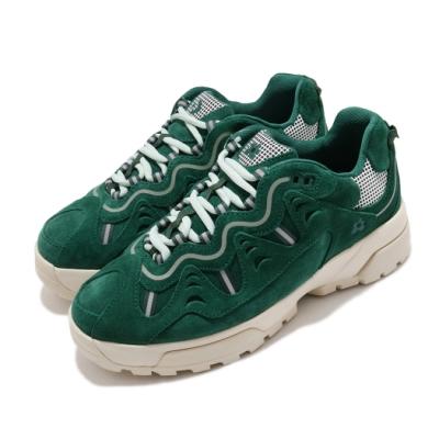 Converse 休閒鞋 GLF Gianno 運動 男女鞋 厚底 麂皮 質感 穿搭 小花 情侶款 綠 米白 169841C