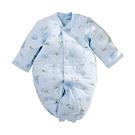 台灣製三層棉厚純棉護手兩用兔衣 b0230 魔法Baby