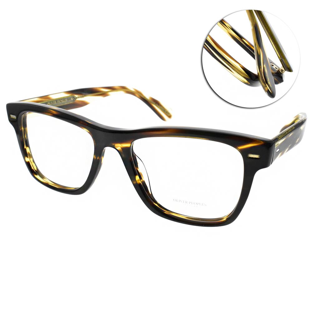 OLIVER PEOPLES眼鏡 復古經典/深琥珀#OLIVER 1003