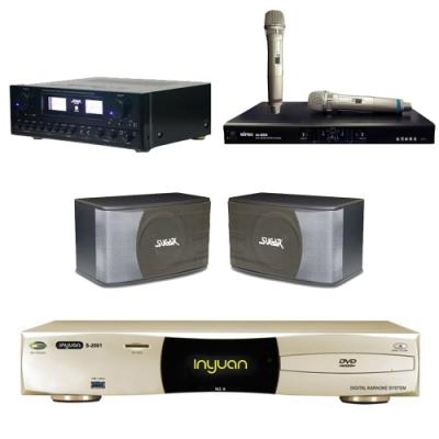 音圓N2A+SUGAR SAK-5888+SK-8610+MI-889(伴唱機4TB+卡拉OK套組)