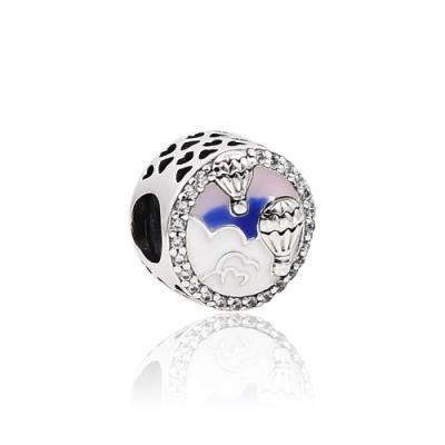 Pandora 潘朵拉 魅力熱氣球冒險 純銀墜飾 串珠