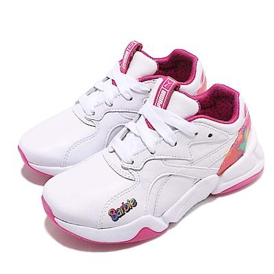 Puma 休閒鞋 Nova x Barbie FL 童鞋