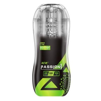 Passion 可調節通道吮吸快感鍛鍊自慰杯 青春綠 清純學姐型 雙11
