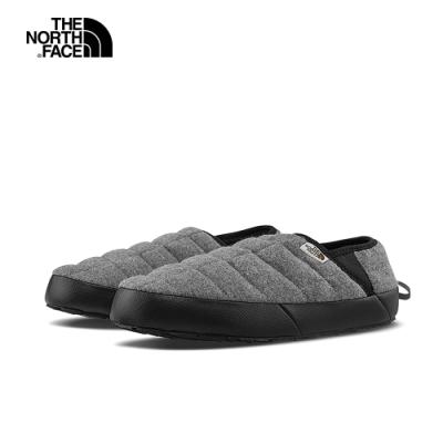 The North Face北面男款灰色防潑水保暖休閒鞋|4O9GGAY