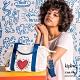 Kipling x Keith Haring 限量聯名系列街頭塗鴉手提側背包-ART MINI product thumbnail 1