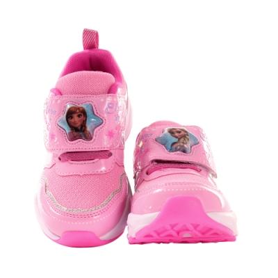 魔法Baby 女童鞋 迪士尼冰雪奇緣正版閃燈運動鞋 電燈鞋 sa15003
