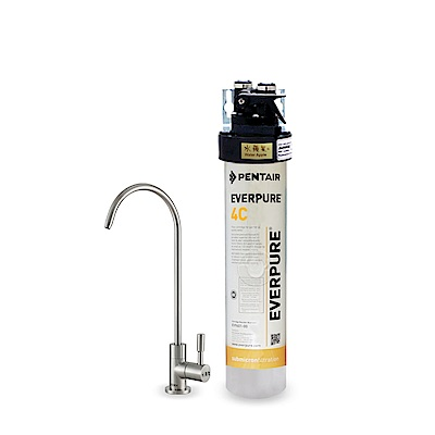 水蘋果公司貨 EVERPURE QL3-4C 單道淨水器
