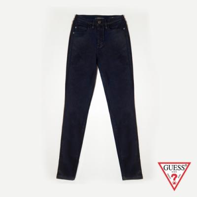 GUESS-女裝-高腰緊身牛仔褲-藍