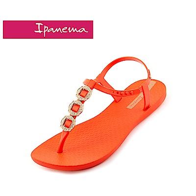 IPANEMA classic glam-elegant系列T字涼鞋-橘色