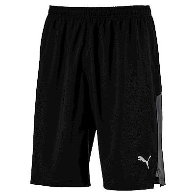 PUMA-男性慢跑系列10吋風短褲-黑色-歐規