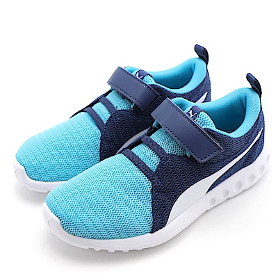 PUMA Carson 2 V PS 中童休閒鞋 19056509 藍