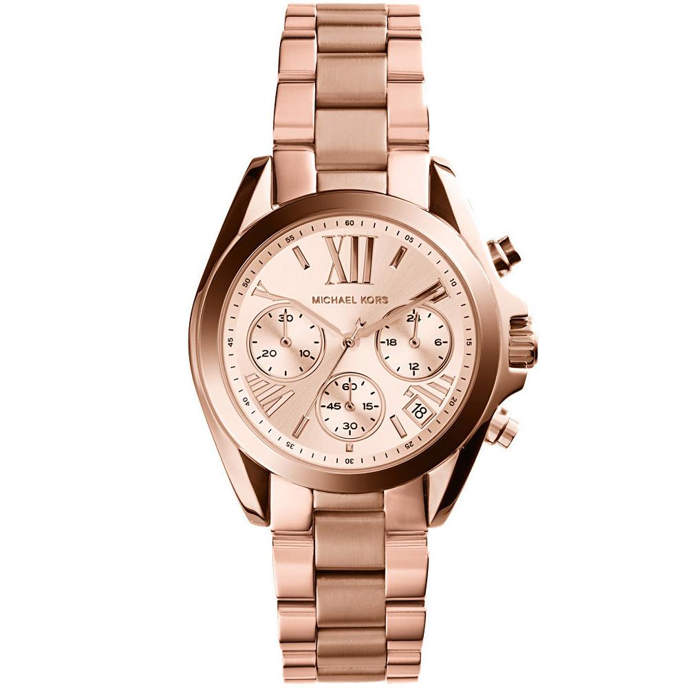 Michael Kors 漫步羅馬三眼計時腕錶(MK5799)