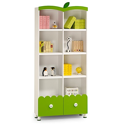 D&T德泰傢俱 毛寶童話3尺書櫃-90x31.3x205.8